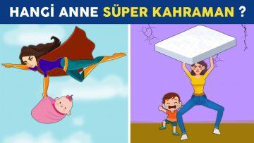 Hangi Anne Süper Kahraman? Sadece Doğru Düşünerek Çözebileceğin En Zorlu 17 Bulmaca Sorusu