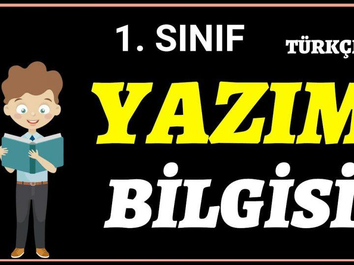1.Sınıf Dersleri   Yazım Kuralları   Türkçe   Uzaktan Eğitim