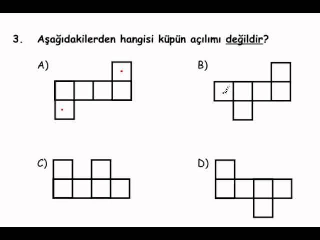Bilsem Sınavı 2.Sınıf B Kitapcığı Genelyetenek 3. Soru Cevabı