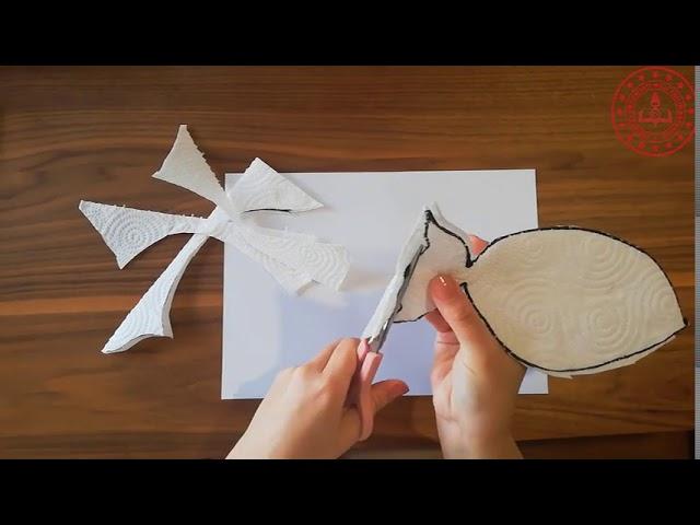Kagit Havludan Hayvan Yapımı 1 Etkinlik Videosu
