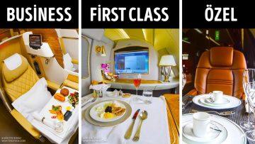 Uçak Bileti Sınıfları ve Ucuza Kabin Yükseltmek İçin 8 Tüyo