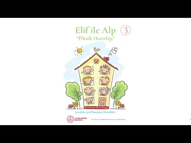 Elif ile Alp Piknik Hazırlığı (Sesli Betimleme ile Desteklenmiştir)