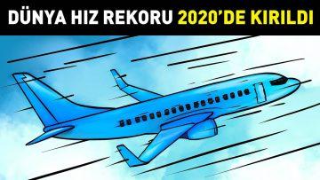 Yolcu Uçağı Dünya Hız Rekoru 2020'de Kırıldı