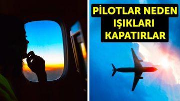 Kalkış Ve İniş Sırasında Uçakların Işıkları Neden Kapatılır