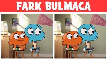 FOTOĞRAF BULMACALARI : Gumball 😂 ile Farkı Bulabilir misin? | Eğlenceli Bulmacalar