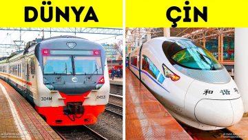 Çin Yüksek Hızlı Demiryollarında Neden Bir Numara